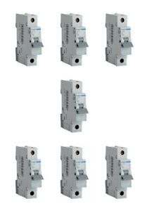 MTN140-40a Type B Single Pole MCB Unused Hager