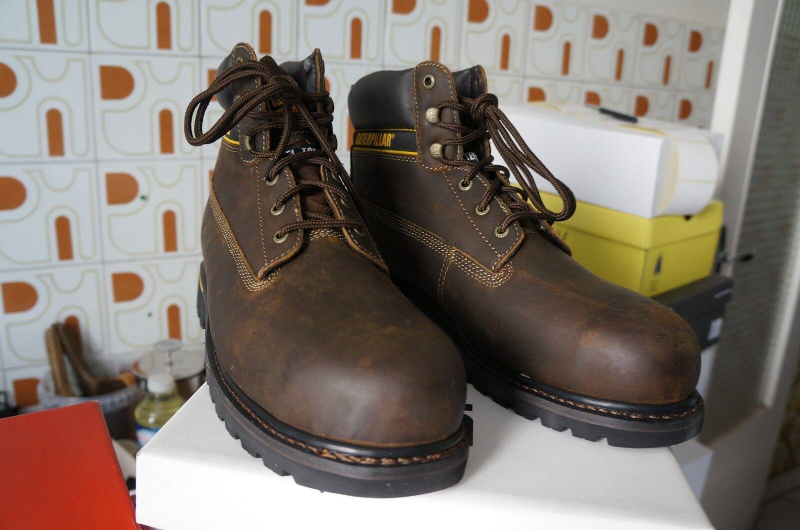 Cat Footwear Holton Sb, S1, Herren Arbeits- und SicherheitsZapatos S1, Sb, Braun , 46ùùùù dde96b