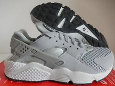 the best attitude dfd7b 4d535 318429-014 Nike Air Huarache Grey Platinum Black White Mens SNEAKERS Sz 7