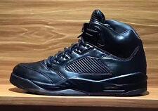 item 3 Nike Air Jordan 5 V Retro Premium SZ 9 Triple Black Pinnacle LUX  881432-010 -Nike Air Jordan 5 V Retro Premium SZ 9 Triple Black Pinnacle  LUX 881432- ... 9fb998d3f