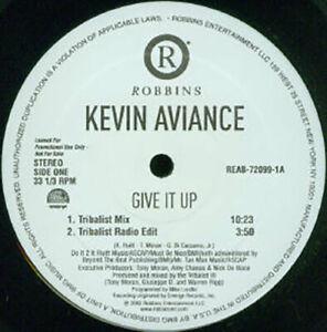 "KEVIN AVIANCE - GIVE IT UP 12"" VINYL MAXI SINGLE LP RARE REMIXES OOP"