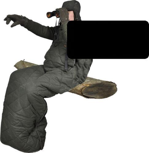 Loden-Ansitz Bag Interior Fibre Fur Hubertus with Thinsulate quietly
