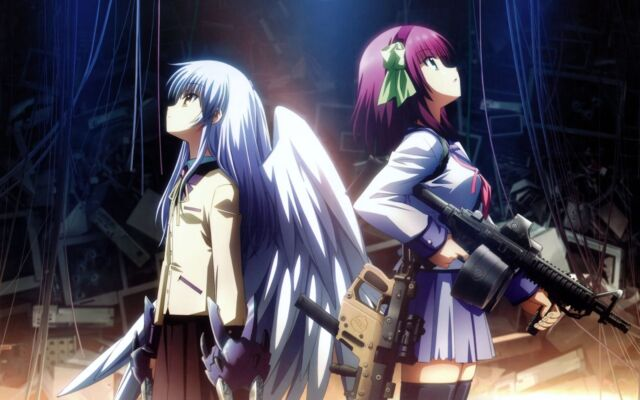 ANGEL BEATS ANIME MANGA PICTURE ART POSTER A4 / A3 ABAM01- BUY 2 GET 1 FREE!