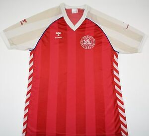 f7a57bb36 Image is loading 1984-1986-DENMARK-HUMMEL-HOME-FOOTBALL-SHIRT-SIZE-