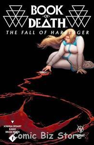 BOOK OF DEATH  FALL OF HARBINGER #1 (2015)  PORTELA COVER B 1ST PRINTING