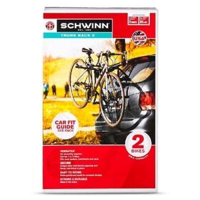 Schwinn 3-Bike Trunk Mount Rack Brand New In Box