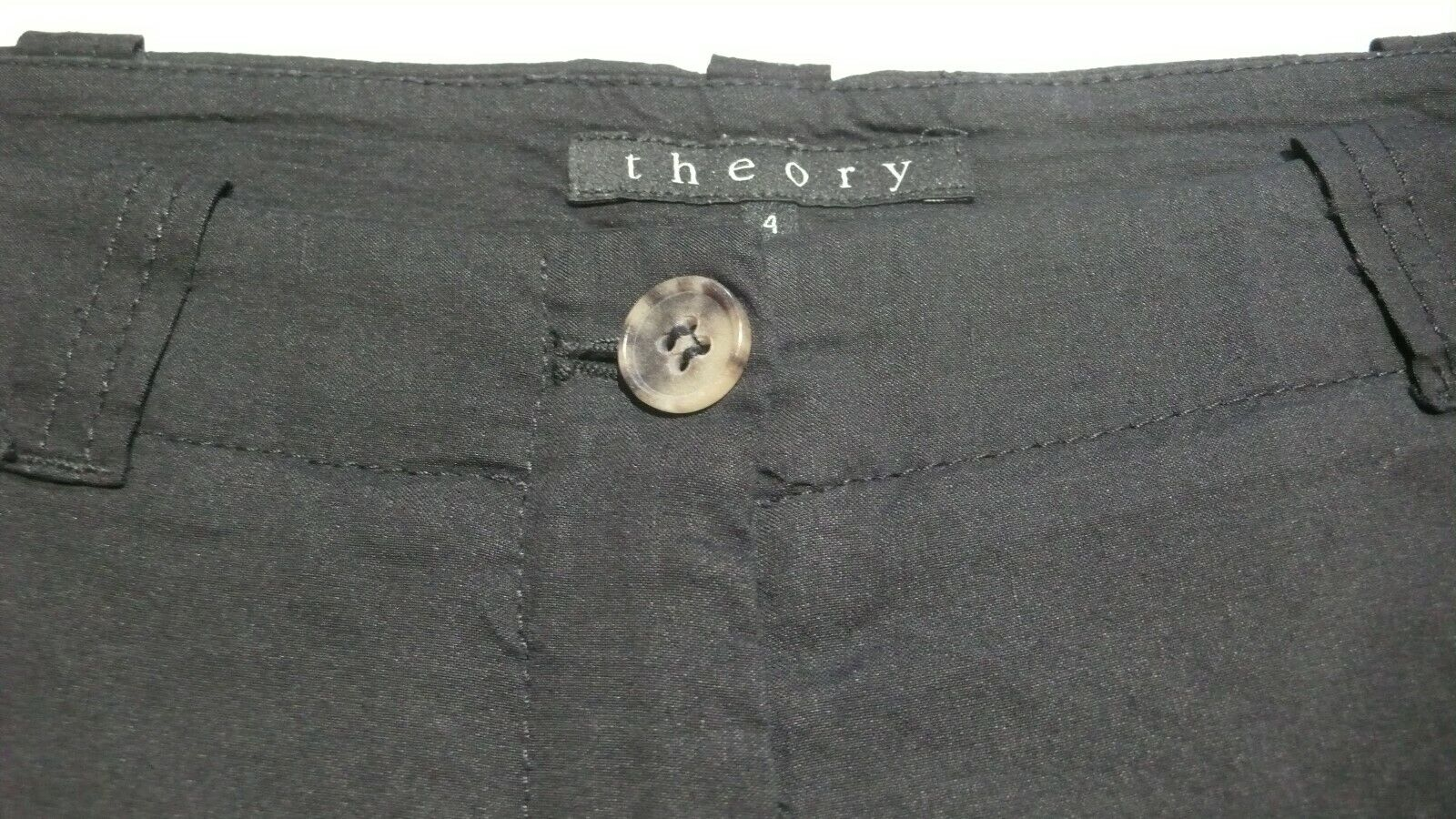 THEORY  Women's Tailored Linen Blend Unlined Shor… - image 6