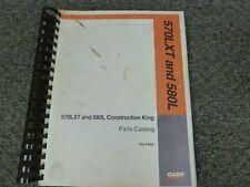 Case Construction King 570lxt Loader Amp 580l Backhoe Parts Catalog Manual