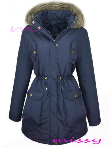 Nouveau femme womens plus size manteau en fourrure synthétique taille 18,20,22,24,26 hiver veste manteau