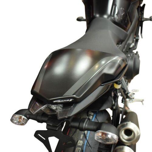 YAMAHA MT09 / FZ09 2017 - 2019 PYRAMID MATTE BLACK SOLO SEAT COWL PANEL 12412M