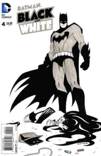 BATMAN BLACK AND WHITE #4 NEAR MINT 2013