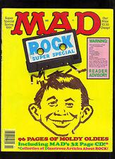 MAD SUPER SPECIAL #74 VG+   1991  EC / ROCK SPECIAL