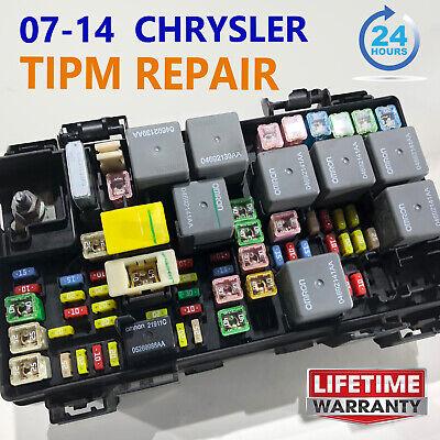 2012 Dodge Durango TIPM Fuse Box REPAIR SERVICE 68089321