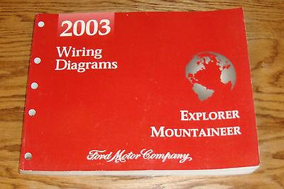 2003 Ford Explorer Mercury Mountaineer Wiring Diagrams ...