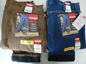 Mens-Wrangler-Riggs-Workwear-Thinsulate-Insulation-Lining-3M-Thermal-Jeans