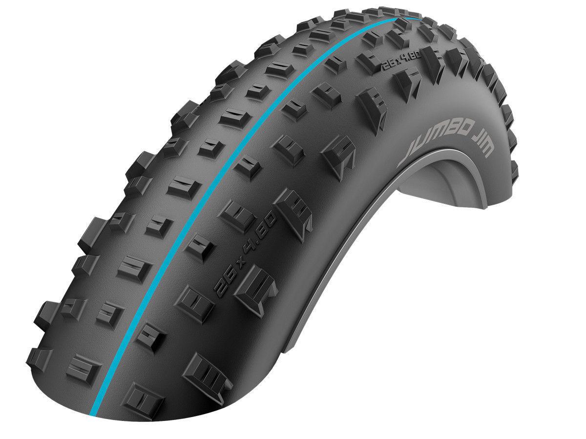 Schwalbe Addix  Jumbo Jim Evo SpeedGrip SnakeSkin TL-Easy Folding Tyre 26 x 4.00  hot