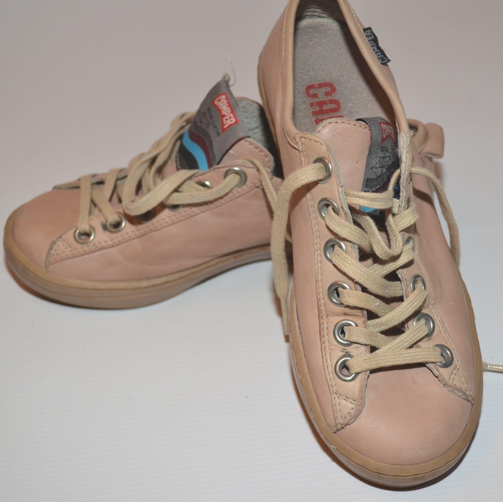 Camper Imar De Cuero Zapatos Tenis Entrenadores Vela Rubor euro 35/Usado