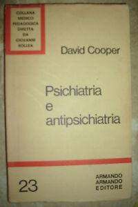 DAVID-COOPER-PSICHIATRIA-E-ANTIPSCIHIATRIA-VOL-23-ED-ARMANDO-ANNO-1972-BG