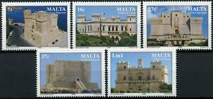 Malta Architecture Stamps 2006 MNH Castles & Towers Verdala Castle 5v Set
