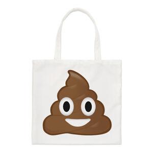 Poo Crotte Emoji Petit Sac Fourre Tout Dessin Animé Visage Drôle