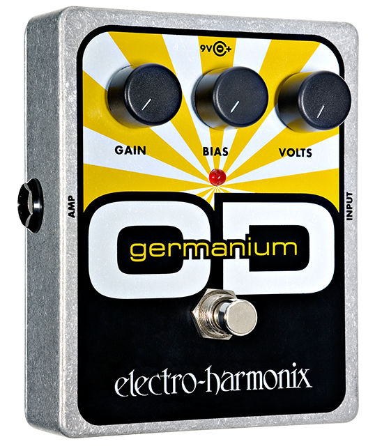 EHX Electro-Harmonix Germanium OD Overdrive Guitar Effects Pedal