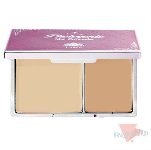 [Lioele] Mix Concealer 2 Colors in One Plate Natural Strong Coverage Makeup BB