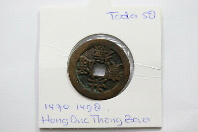 Coins: World A99 #sz9309 Precise Vietnam Ancient Cash Coin Type With 3.62 Gr
