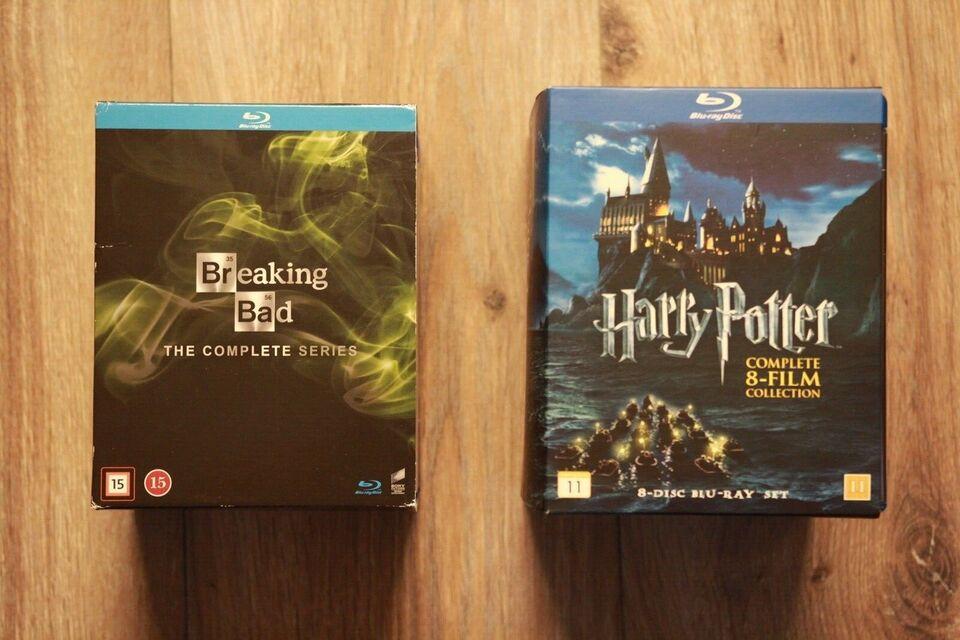Breaking bad & harry potter, Blu-ray, eventyr