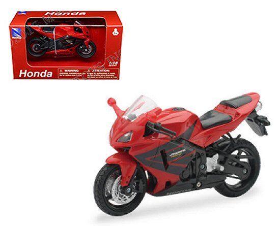 1 18 Red Honda Cbr 600rr New Ray Diecast Motorcycle Motor Bike For Sale Online Ebay