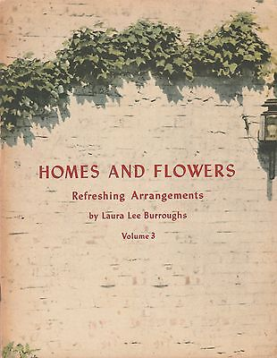 "Coca Cola 1942 Colorful Homes and Flowers ""Refreshing Arrangements""Booklet"