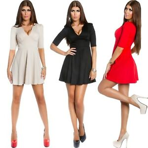b83e33371d2 Women s Mini Dress Jersey Bell Skirt Business Party Cocktail Sexy