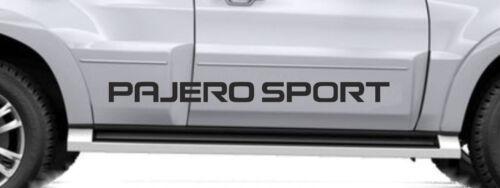 MITSUBISHI PAJERO SPORTSport 4x4Autocollant Decal graphiqueLivraison gratuiteBB168