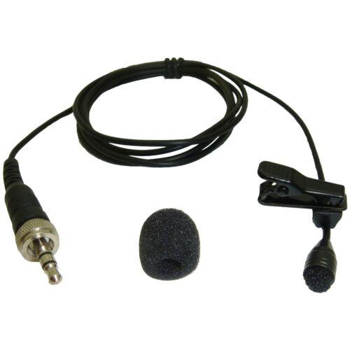 PRO LAV 3.5mm JACK PLUG MICROPHONE for SENNHEISER EW100 EW300 EW500 G2 G3 SK20