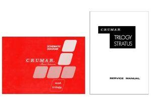 CRUMAR TRILOGY Service Manual Schematic Diagrams Schemi elettrici Schaltplan