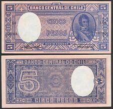 CHILE  P110***5 PESOS 1/2 CONDOR***ND 1947-1958***UNC***LOOK SÚPER SCAN