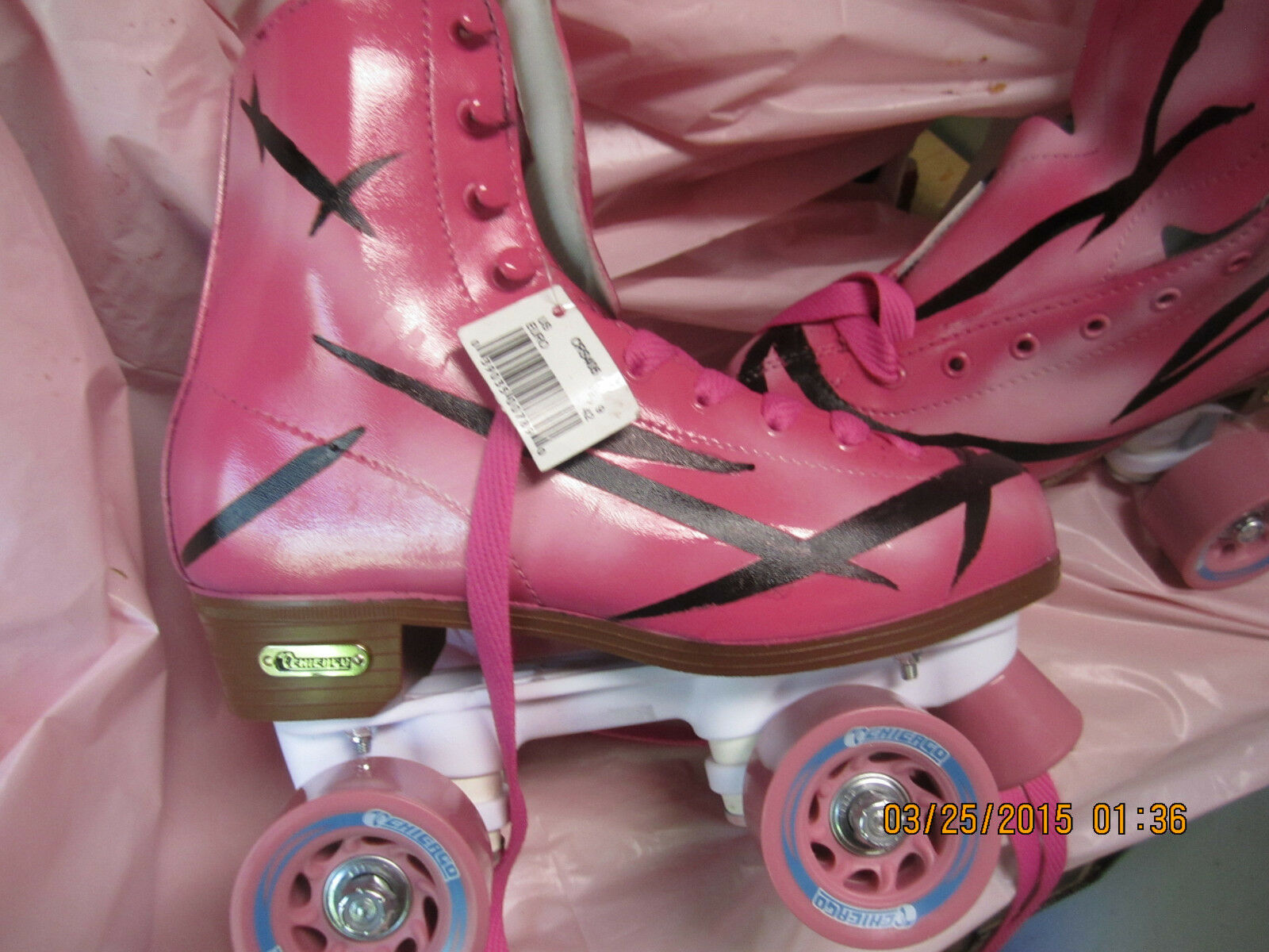 Women Pink & Size 6, Heel to toe is 9 3 16 inches, No More Rentals