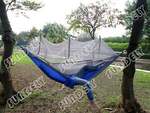 image is loading uk travel jungle camping hammock garden hanging nylon  uk travel jungle camping hammock garden hanging nylon bed        rh   ebay co uk