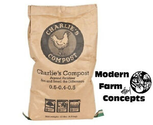 NEW-10-LBS-CHARLIE-039-S-COMPOST-TEA-QUALITY-Chicken-Manure-Compost
