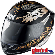 "IXS Helm * HX 406 ""MYSTIC"" Carbon-Kevlar-Fiberglas Motorradhelm * Gr M (57-58) *"
