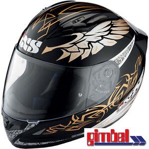 IXS-Helmet-HX-406-034-Mystic-034-Carbon-Kevlar-Fibre-Glass-Motorcycle-Size-XL
