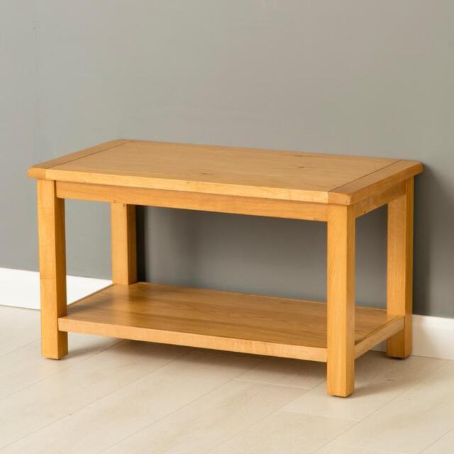 Poldark Oak Coffee Table Light Small Lounge