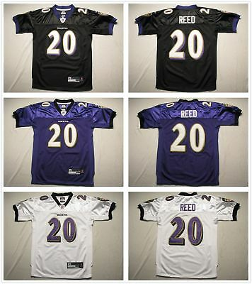 1460ab1d Youth's Baltimore Ravens #20 Ed Reed Stitched Jersey Black/Purple/White |  eBay