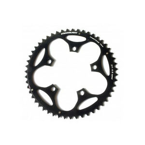 Black Stronglight Dural 5083 Outer Chainring 46T Shimano 9//10 110mm