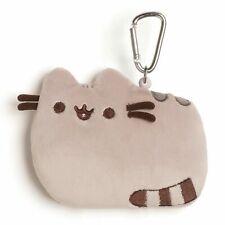 "New Gund - Pusheen Kitty ID Case - Grey - 5"""