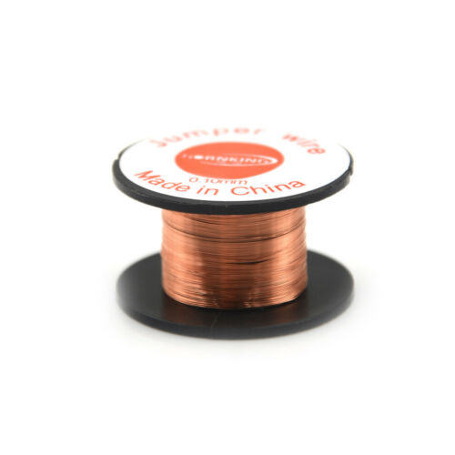 3 Roll Magnet Wire AWG Gauge Enameled Copper Coil Winding 0.1mm BC