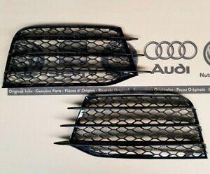 Audi-TTRS-original-Gitter-Kuehlergrill-TT-2-8J-Stossstange-Grill-RS-plus-Blenden