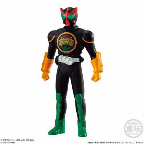 BANDAI Sofubi Hero Kamen Rider OOO TaToBa Combo Shokugan Vinyl Figure Japan