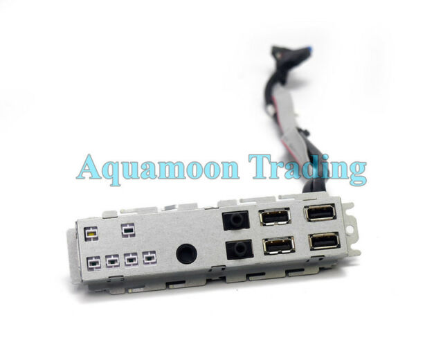 Dell GVJ4G 0GVJ4G Front I//O Panel USB Audio Assembly Optiplex 7010//9010 SFF PC
