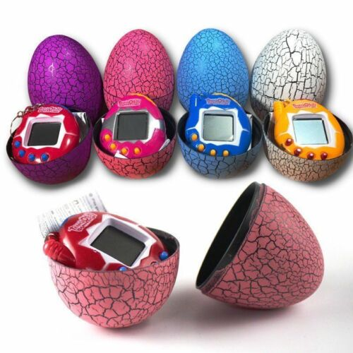 Retro Toy 90s Nostalgic Machine Original Tamagotchi Virtual Cyber Pet Eggshell