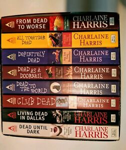 Details about Sookie Stackhouse Box Set Lot 1-8 Novels True Blood Harris  Southern Vampire